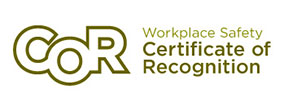 COR - Workplace Safety - Certificate of Recognition